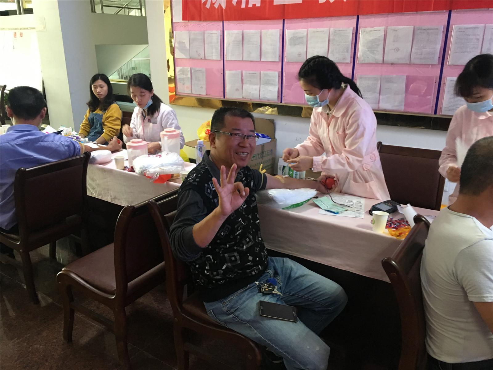 莆田五中教师积极参加义务献血活动